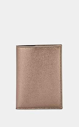 Barneys New York Men's Leather Passport Case - Pewter