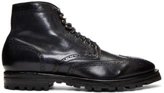 Officine Creative Navy Aspen 14 Boots