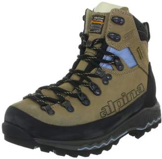 Alpina Women's 680187 walking and hiking boots Beige Size: 8