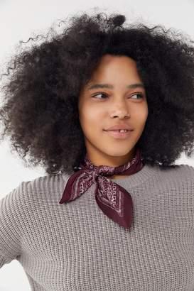 Urban Outfitters Flecked Mini Silk Scarf
