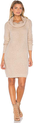MLM Label Generation Knit Sweater Dress in Blush $198 thestylecure.com