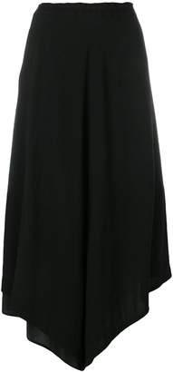 Y's asymmetric hem skirt
