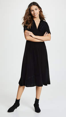 Shoshanna Lakewood Velvet Dress