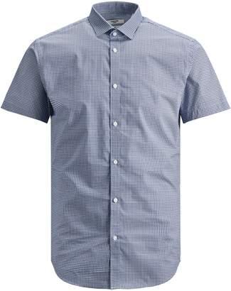 Jack and Jones Geometric Button-Down Shirt