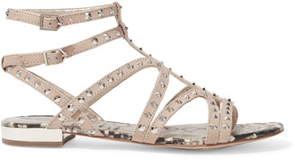 Sam Edelman Demi studded leather sandals $110 thestylecure.com