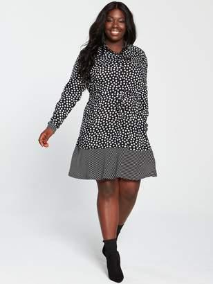Junarose Curve Above Knee Dress - Black