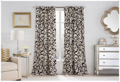Wayfair Brandeis Rod Pocket Single Curtain Panel