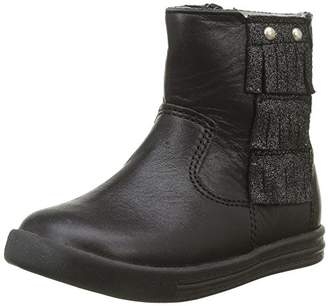 Minibel Girls Boots Black Size: 4 Child UK