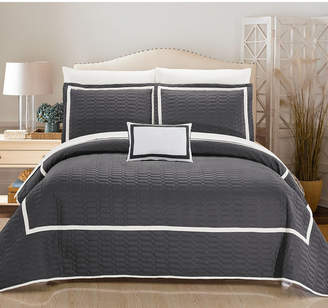 Chic Home Mesa 8 Piece King Quilt Set Bedding