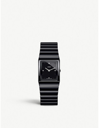 Rado R21702702 Ceramica black high-tech ceramic watch