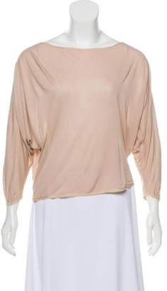 The Row Jersey Long Sleeve Top