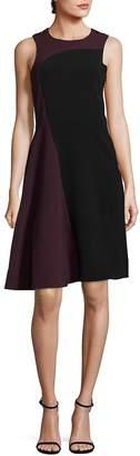 Parker Women's Colorblock Sleeveless Midi Dress