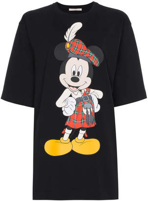 Christopher Kane Mickey Mouse Printed T-Shirt