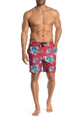 c927d1a36d Trunks The Narrows Hawaiian Floral Volley Swim Shorts