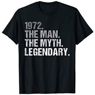 Mens The Man Myth 1972 Legendary 46th Birthday T-Shirt Gift