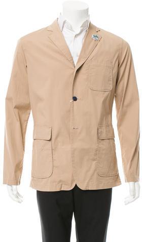 BeamsBeams Woven Three-Button Blazer w/ Tags