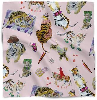 House of Gharats - Tiger'S Fashion Party Pocket Square Baby Pink