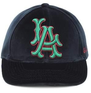 Gucci LA Angels velvet baseball cap
