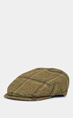 Lock & Co Hatters Men's Drifter Virgin Wool Flat Cap