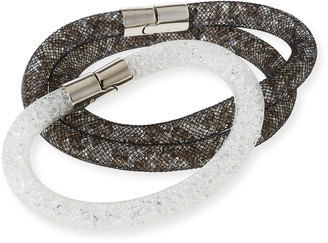 Swarovski Stardust Convertible Crystal Mesh Bracelet/Choker Set, Multi, Medium $95 thestylecure.com