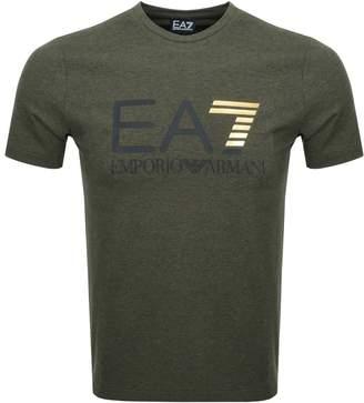 Emporio Armani EA7 Crew Neck T Shirt Green