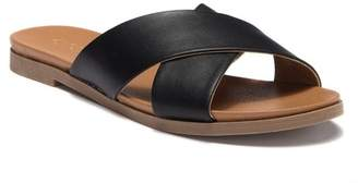 Abound Skylar Cross Band Flat Sandal