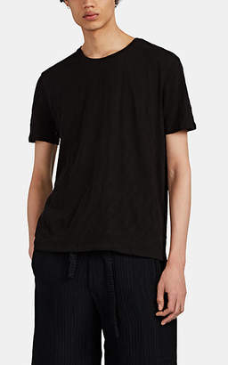 ATM Anthony Thomas Melillo Men's Slub Cotton T-Shirt - Black