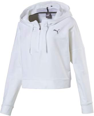 Puma Women's Cropped French Terry Hoodie