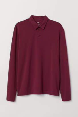 H&M Polo Shirt Regular fit - Red