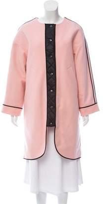 Sonia Rykiel Sonia by Wool Knee-Length Coat w/ Tags
