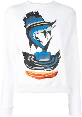 J.W.Anderson fish print sweatshirt