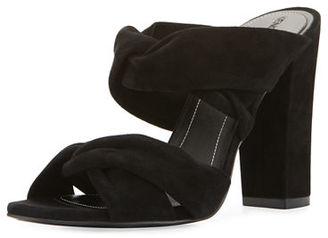 Kendall + Kylie Demy Knot Slide Mule Sandal $150 thestylecure.com