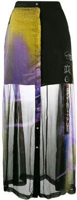 Diesel high waisted maxi skirt