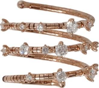 MATTIA CIELO Rugiada Three Wrap Diamond Ring