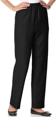 Alfred Dunner Pull-On Straight-Leg Pants