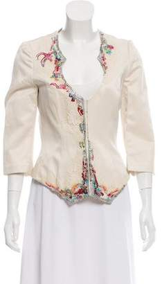 Christian Lacroix Embellished Satin Jacket