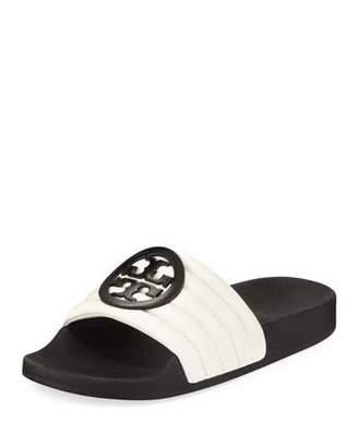 Tory Burch Lina Two-Tone Padded Slide Sandal
