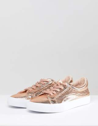 Asos Design DESIGN Detox Lace Up Sneakers