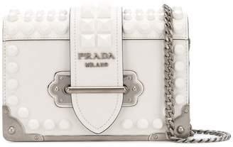 Prada studded small Cahier bag