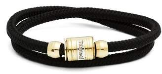Miansai - Casing Rope Bracelet - Mens - Black Multi