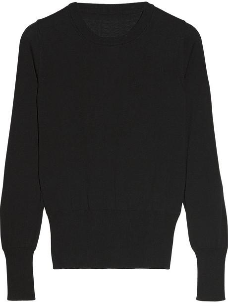 Maison Martin Margiela Split-sleeve cotton sweater