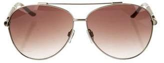 Just Cavalli Aviator Gradient Sunglasses