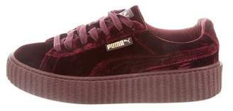 FENTY PUMA by Rihanna Velvet Low-Top Sneakers
