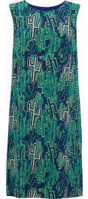 M Missoni Printed Silk Dress