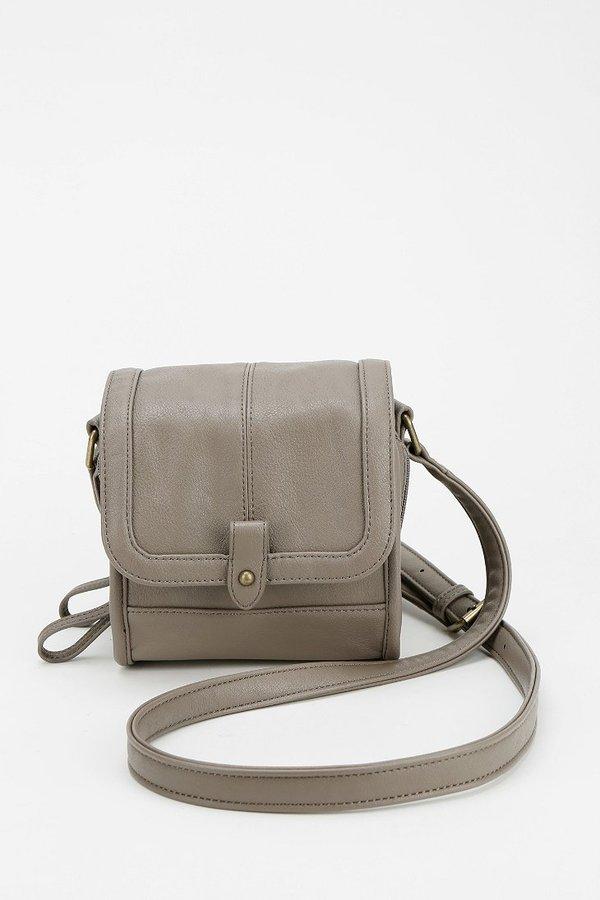 BDG Double-Zip Square Crossbody Bag