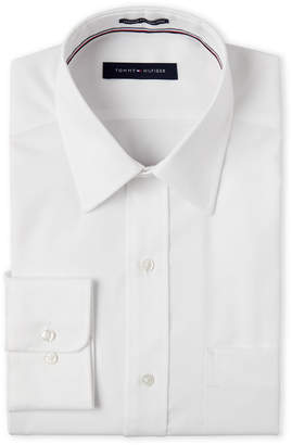 Tommy Hilfiger White Regular Fit Dress Shirt