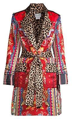 Camilla Women's La Fleur Libertine Printed Military Coat