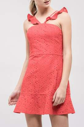 J.o.a. Lace Fit-&-Flare Dress