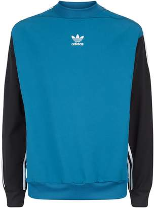 adidas Stripe Long Sleeve Top