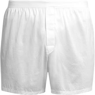 DEREK ROSE Lewis cotton-jersey boxer shorts $45 thestylecure.com